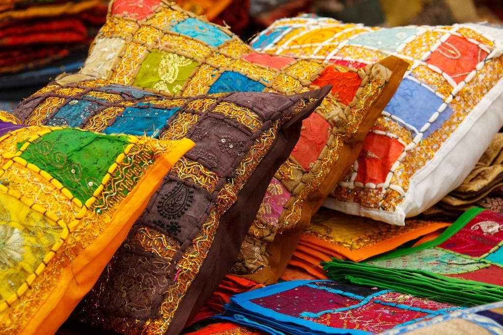 colorful cushion