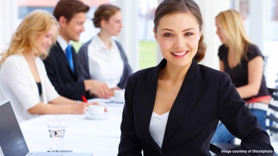 Portrait of a female executive