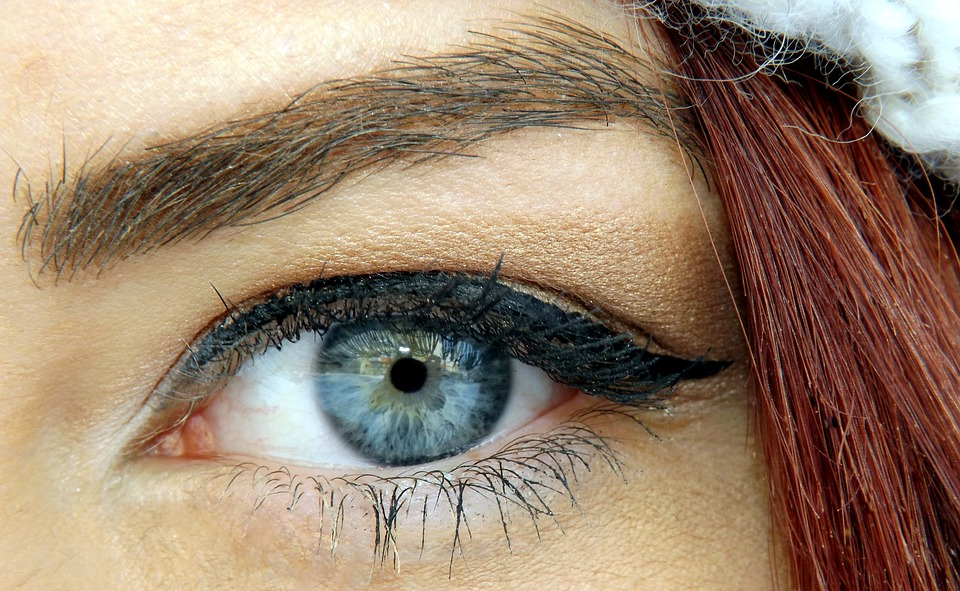Blue Beauty Iris Gene Eye Seductive Makeup
